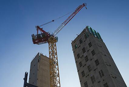 construction administration crane building 1